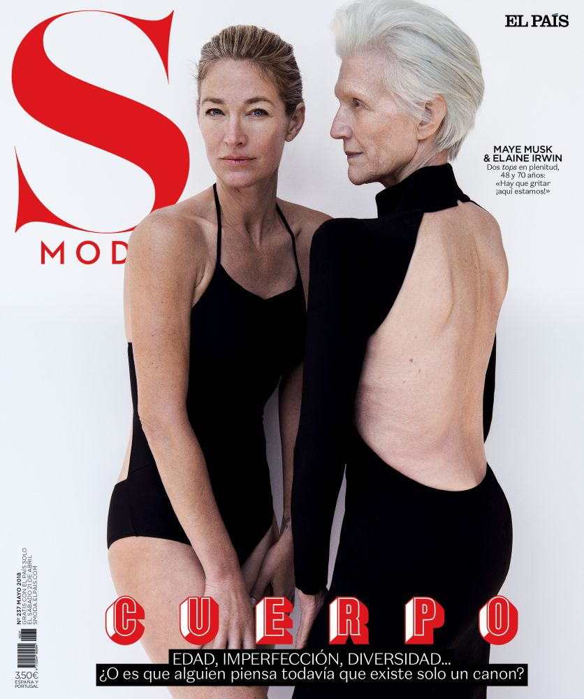 maye musk,francesca burns,jan welters,s moda,el pais,magazine,cover
