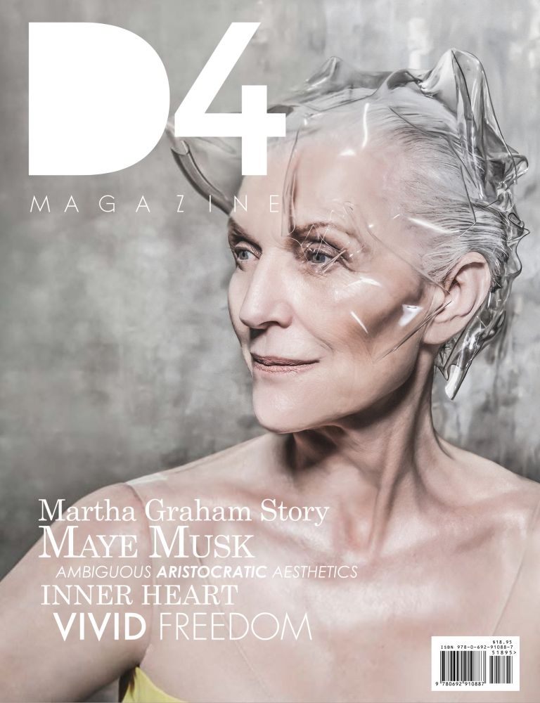 maye musk,d4,magazine,cover
