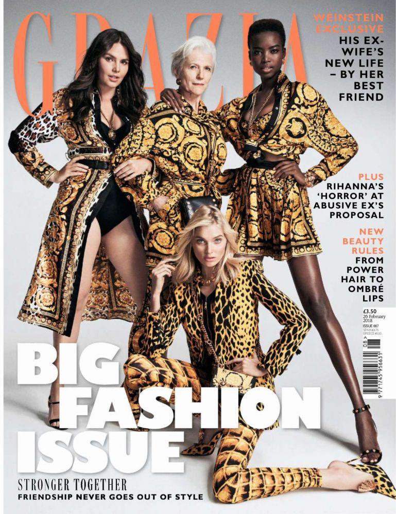 maye musk,grazia,magazine,cover
