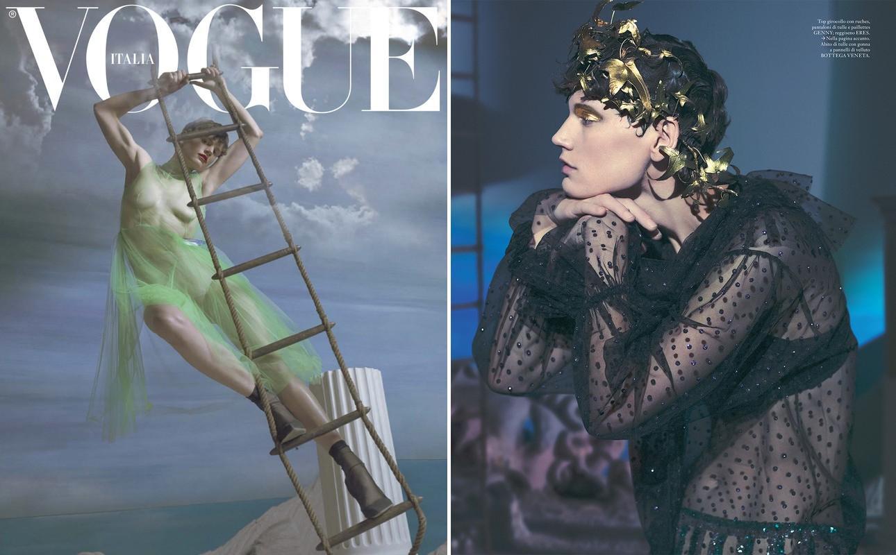mert & marcus,vogue,italia,cover,magazine,saskia de brauw