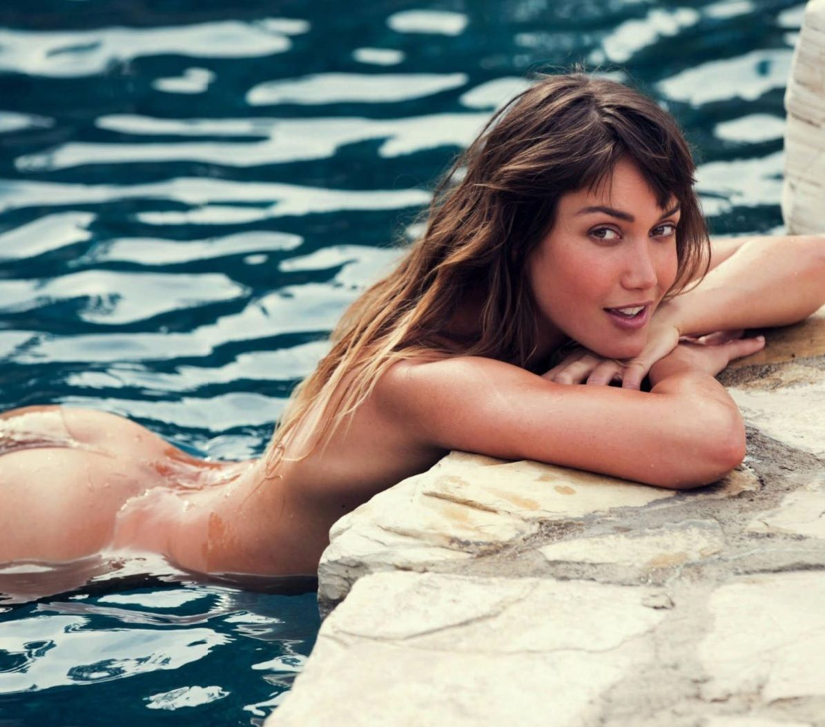 brook power,nude,david bellemere,swimming pool