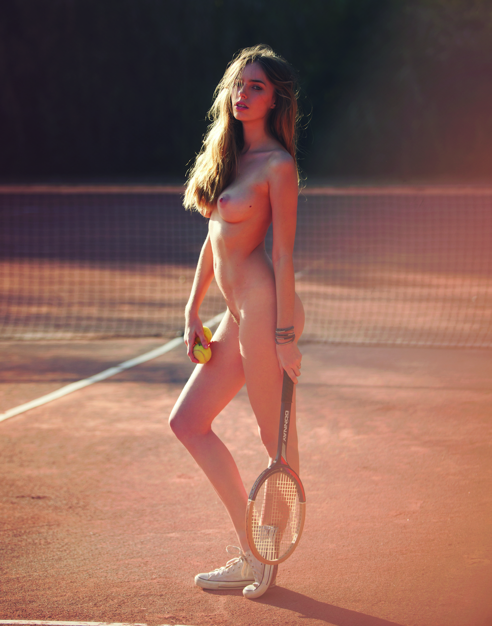 anthea page,david bellemere,nude,tennis,naked