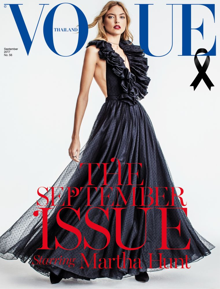 martha hunt,russell james,vogue thailand,magazine,cover,russel james